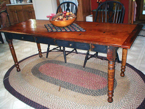 Maple and Cherry Table