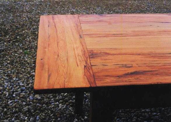 Breadboard Ends on Pine Farm Table