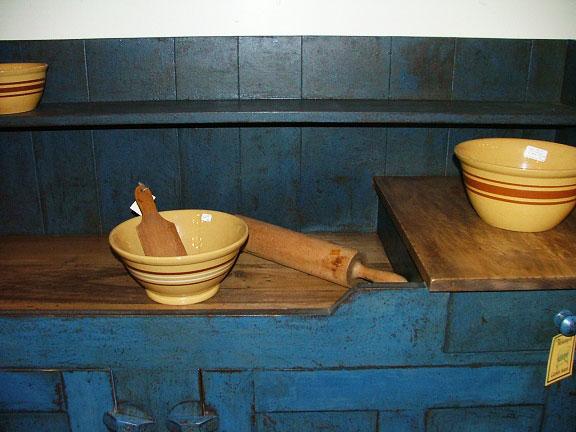 Dry Sink Top Detail