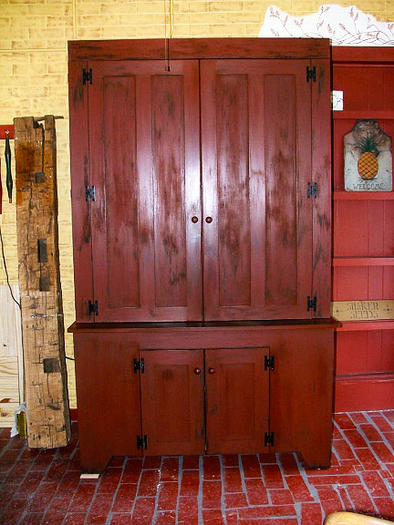 Period Style Large Screen TV Cabinet