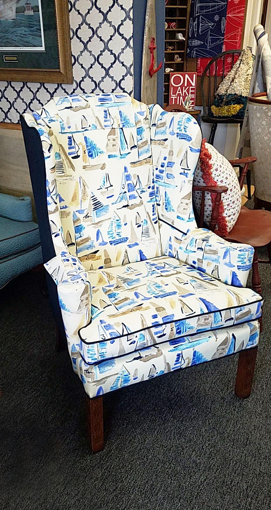 Vermilion Chair