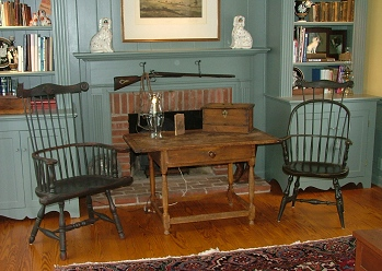 Windsor Shell Chair in Study
