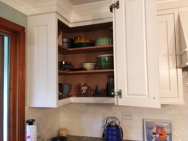 Folding Upper Cabinet Door