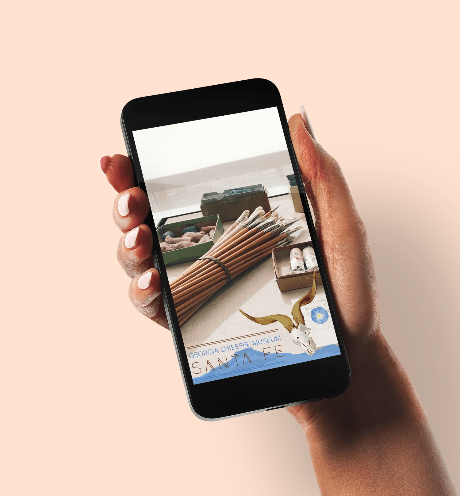 Snapchat filter for The Georgia O'Keeffe Musuem