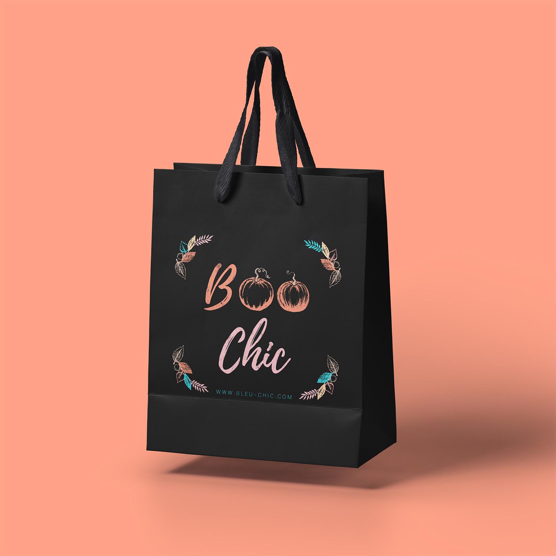 Bag designs for Bleu Chic Boutique