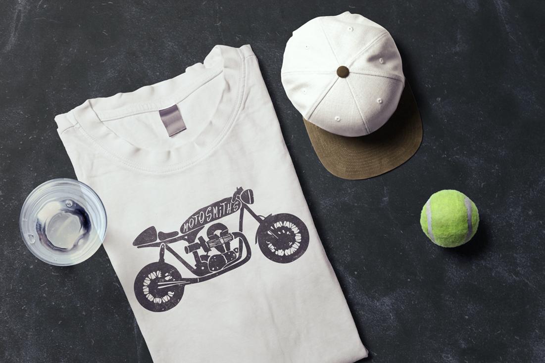 Shirt design for Motosmiths