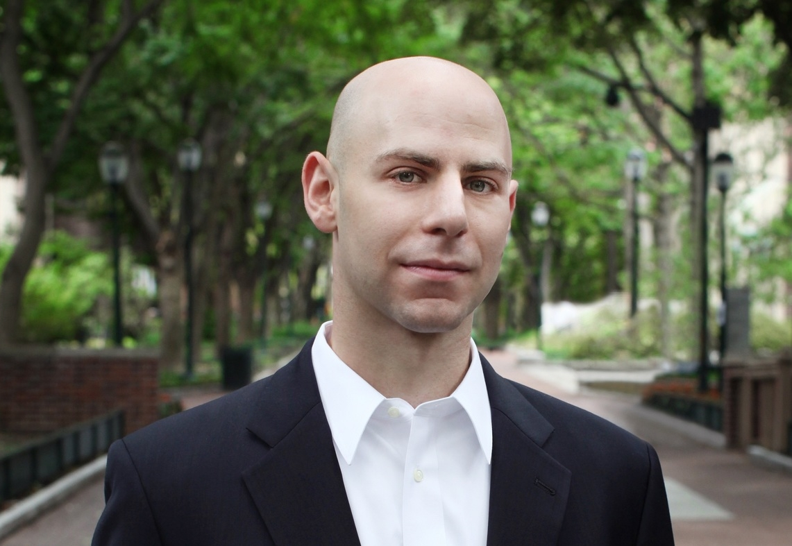 Adam Grant, PhD, award-winning professor of psychology and best-selling author.