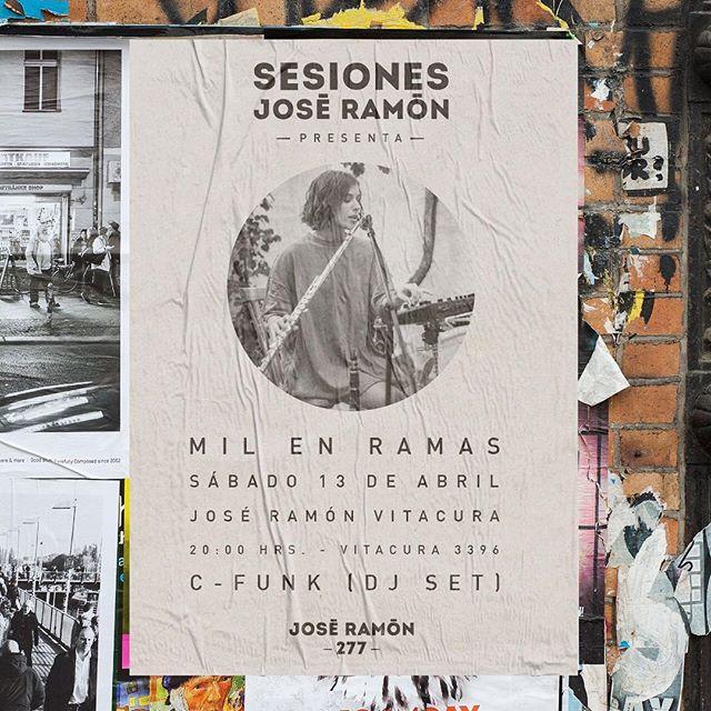 Este sábado en el @joseramon_277 tendremos a @milenramas y después DJ Set de @cfunk 🤘