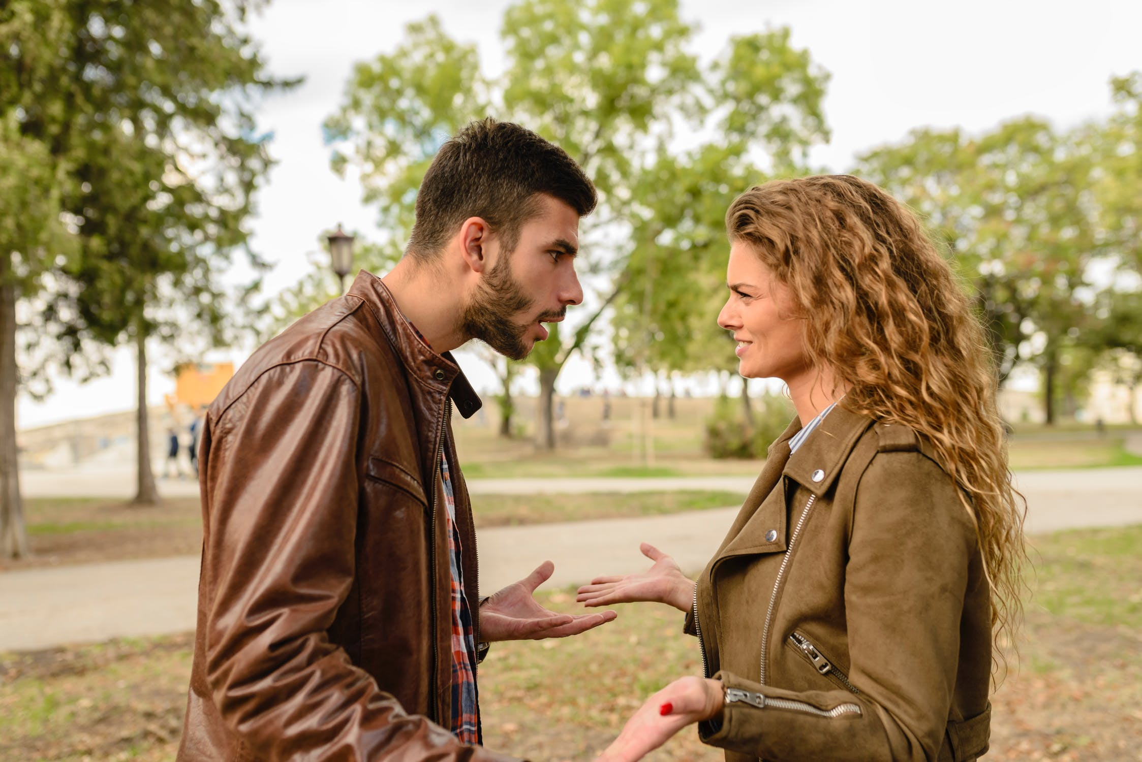 a couple having an argument - life coaching blog - personal development