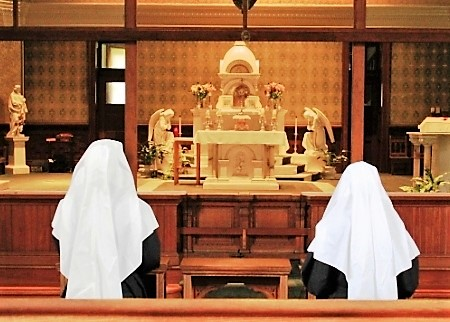 Visitation Nuns Mobile, ALBlessedSacrament.JPG