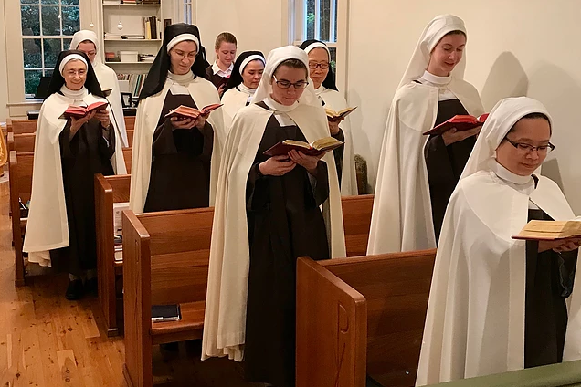 Discalced Carmelites of Covington — Cloistered Life