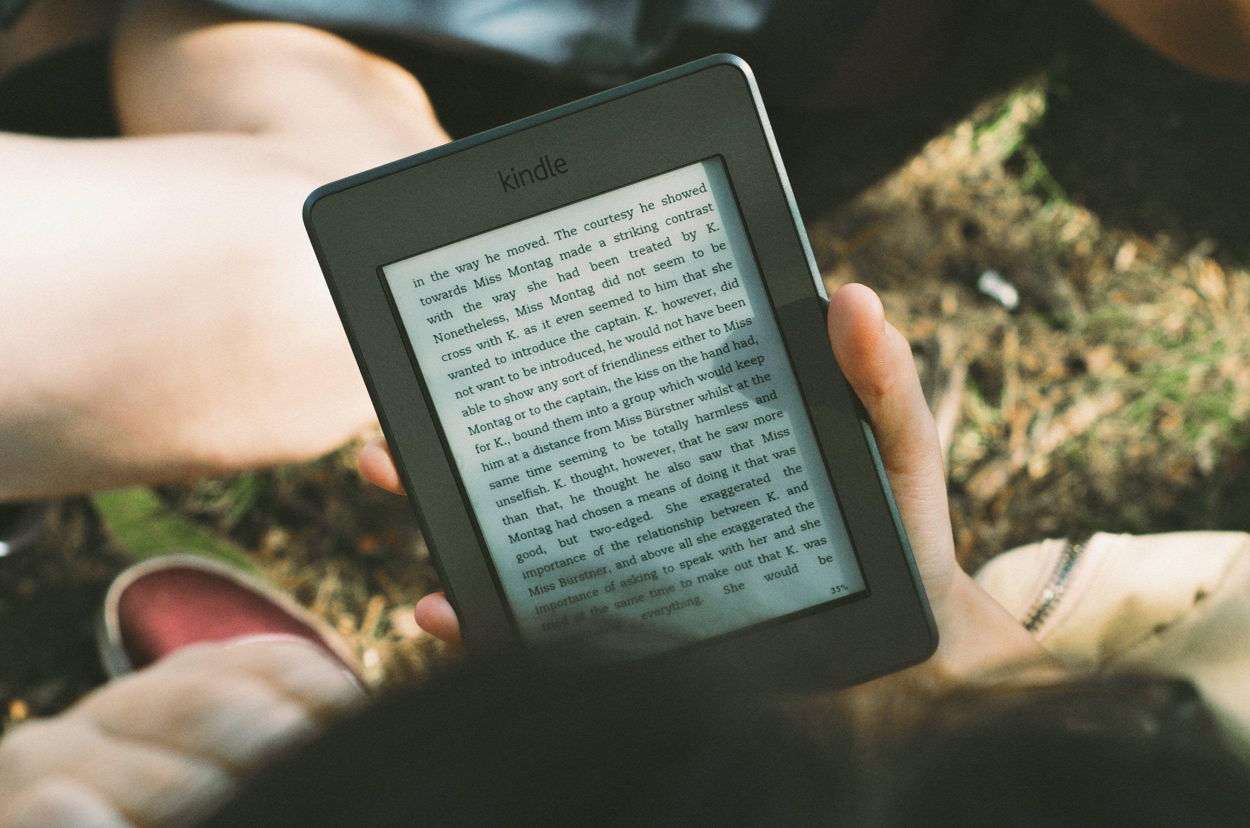 Und dann erschien am Horizont eine-book Reader -