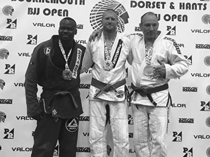 Personal Trainer in Brighton winning latest gold medal at regional Jiujitsu tournament