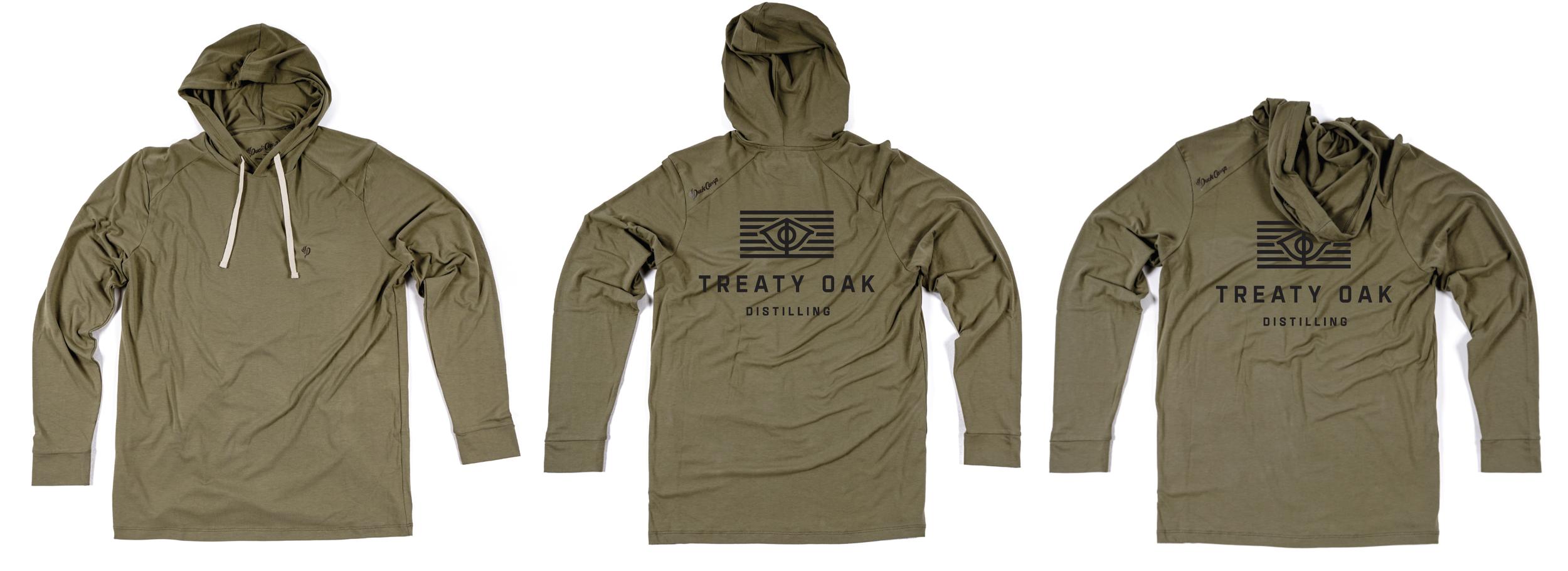 Duck Camp X Treaty Oak Distilling Bamboo Sun Shirt 2019