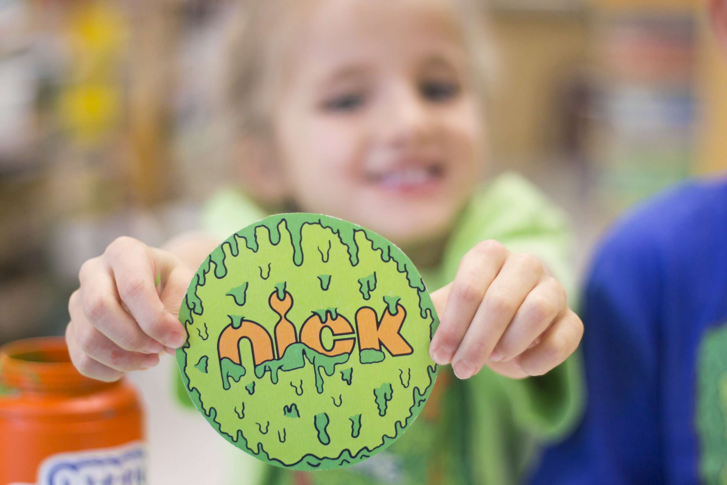 What happens when kids see slime