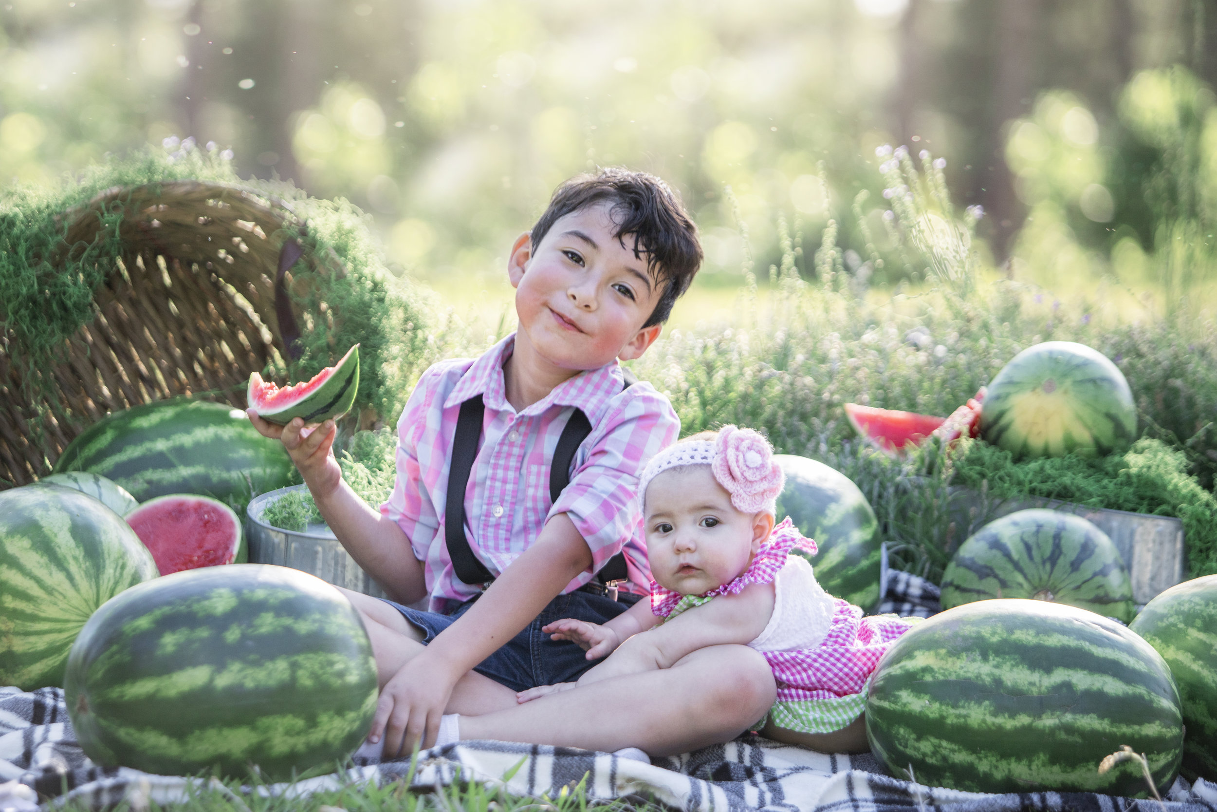 All The Watermelon!