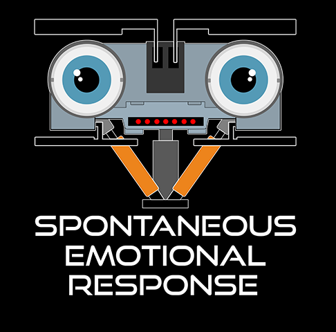 SPONTANEOUS EMOTIONAL RESPONSE MERCH - Get your sticker, shirt, mug etc. now through TeePublic!SALE AUGUST 21-25Everything is up to 35% off -- that's $13 tees, $30 hoodies, $20 phone cases, and way more.