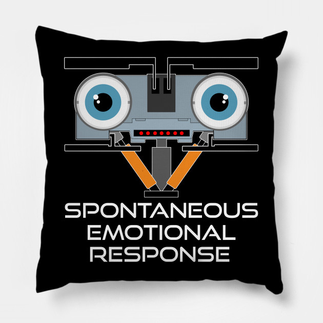 Johnny 5 Pillow