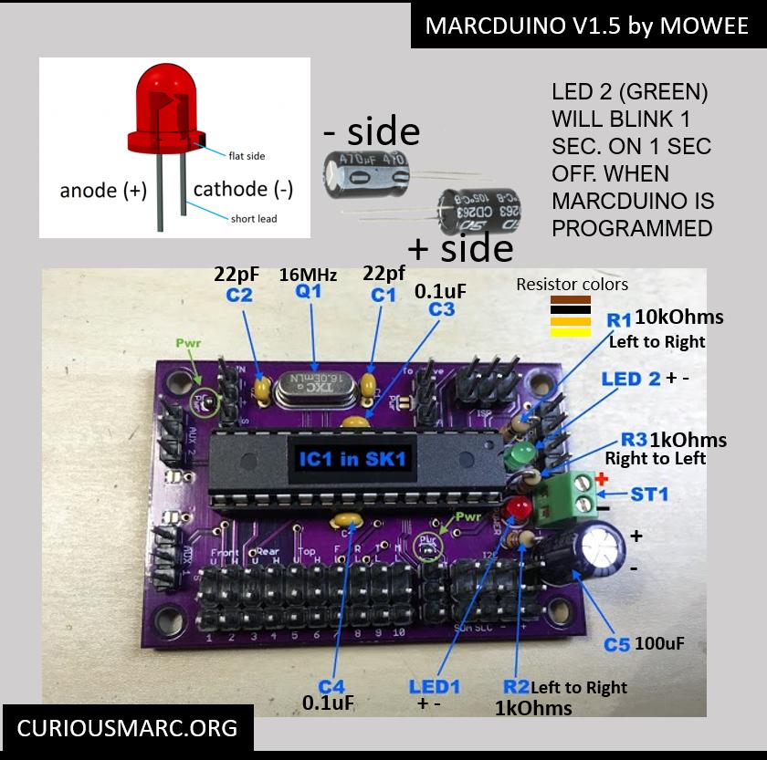Marcduino v1.5 Diagram
