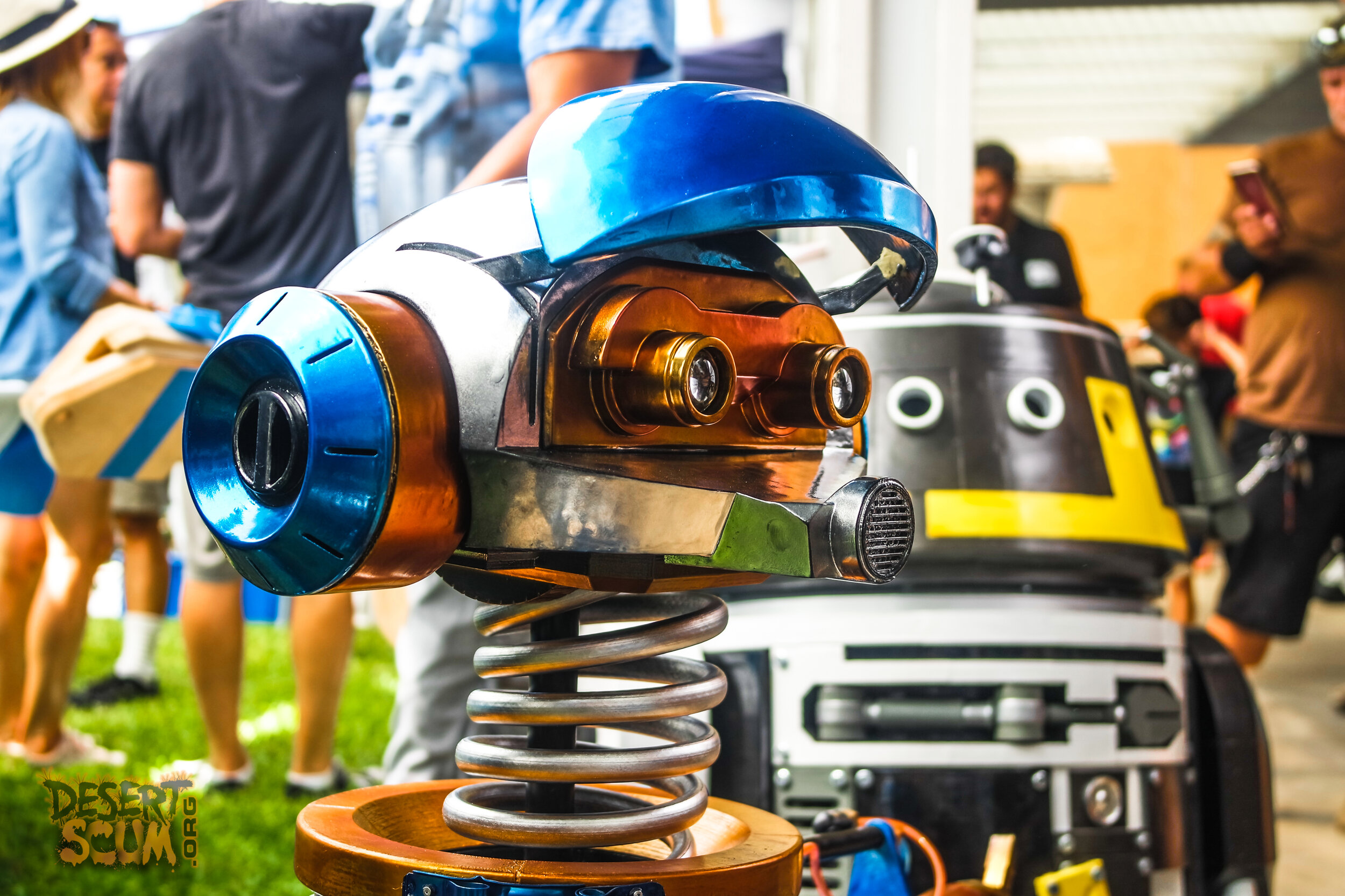 #R2LA16 #R2LA #droidbuilders #astromech #r2builders #mousedroidbuilders #bb8builders #droid #droidparty #rx24 #captainrex #pilotrex #startours #shocker #s110c #desertscum