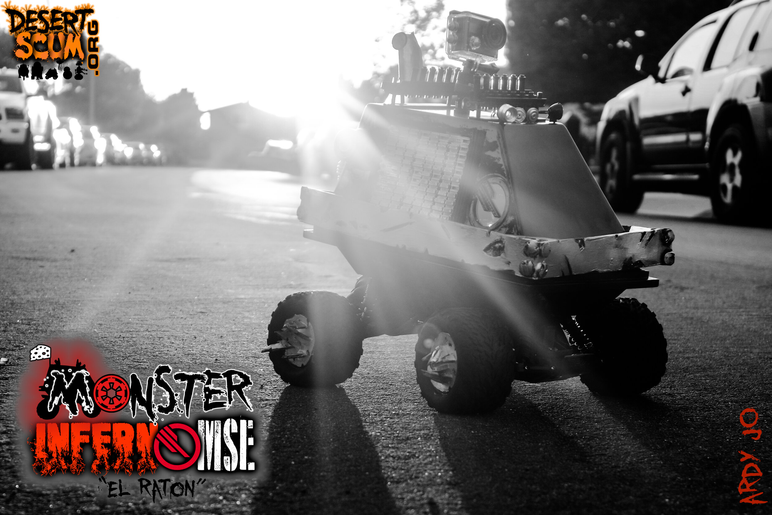 Monster Inferno MSE El Raton