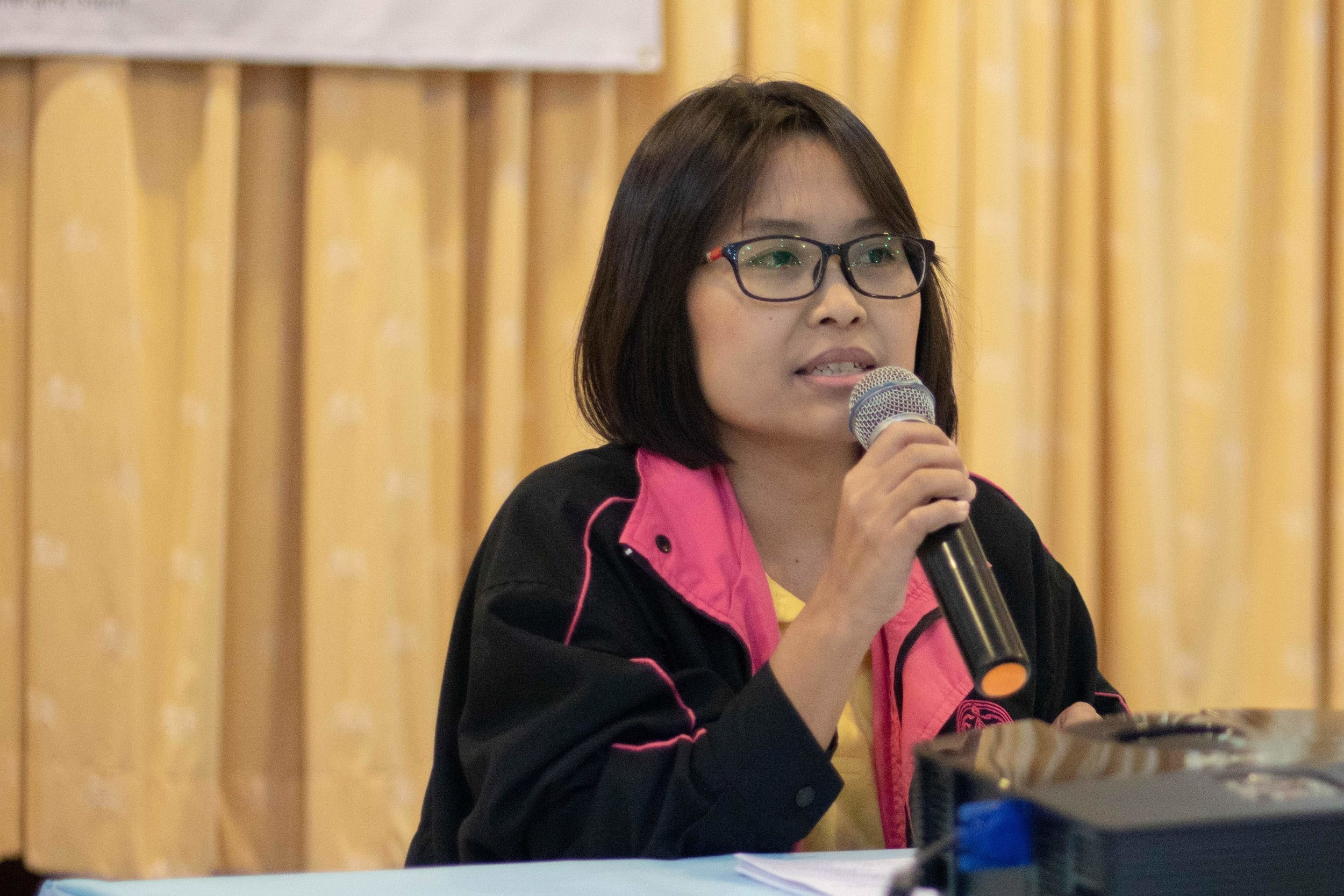 """""""Thank you and we appreciate the opportunity to collaborate with you, as the department of social welfare, to implement our government mandate to child protection."""" Phannipa Panyanark, Social Worker, Child Welfare Department Director"""