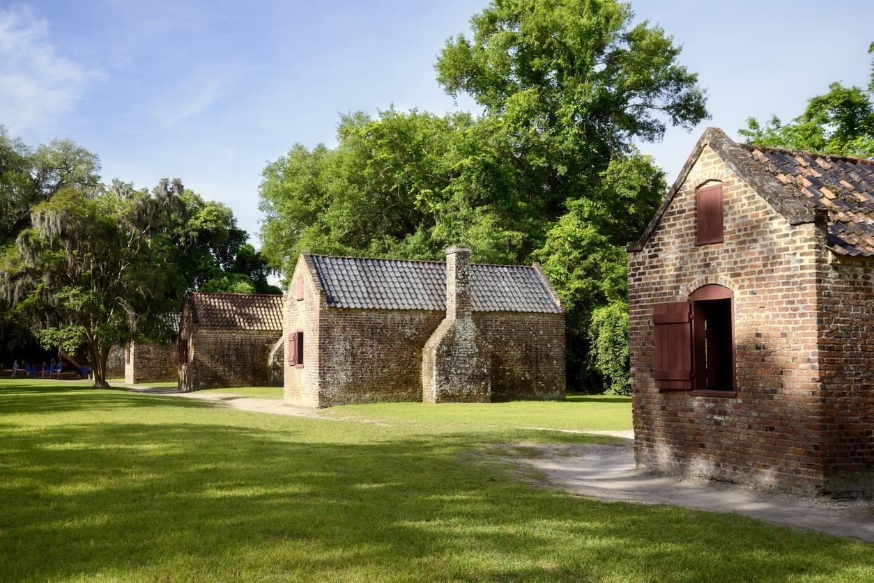 Slave Dwellings at Drayton Hall Plantation