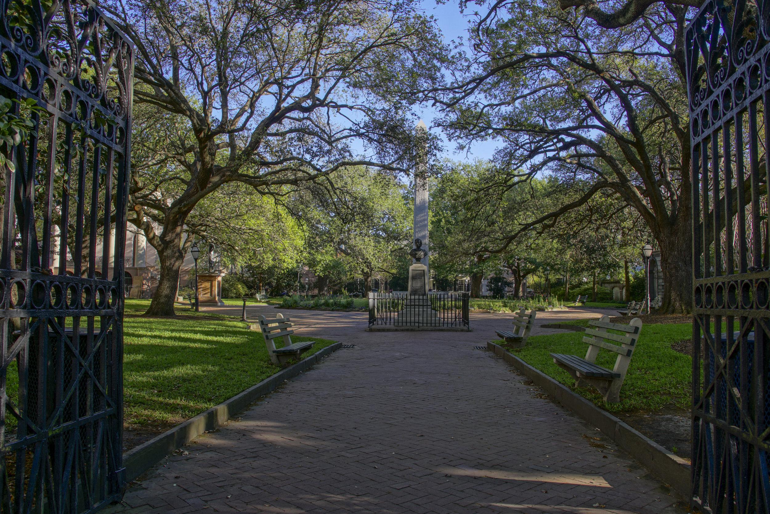 Washington Park, Charleston SC