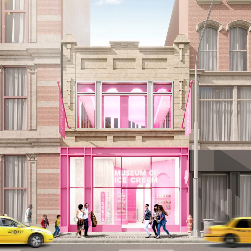 THE PLANNED MUSEUM OF ICE CREAM FLAGSHIP AT 558 BROADWAY. IMAGE: MUSEUM OF ICE CREAM