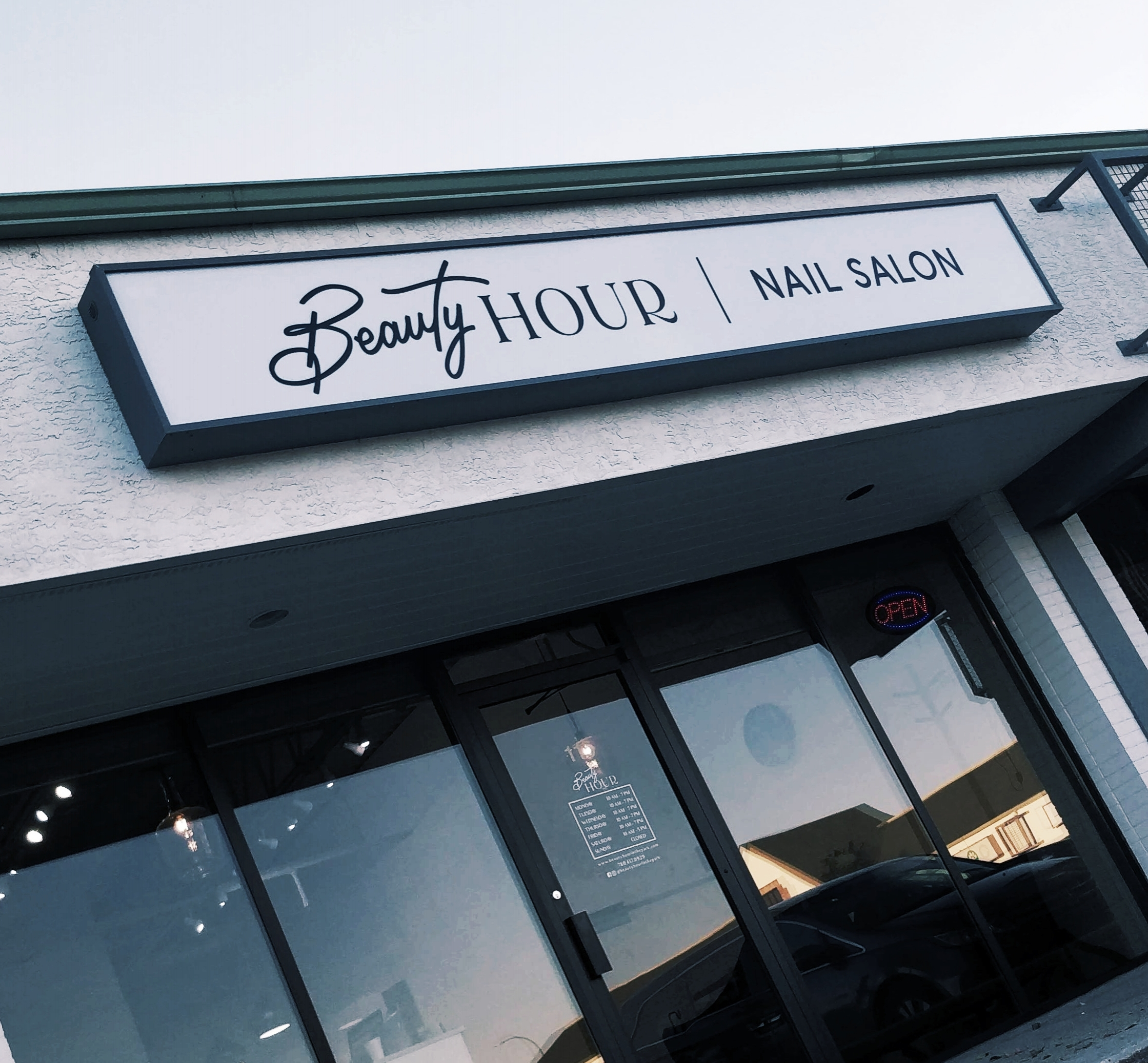 Beauty Nails in Sherwood Park Rebrands Their Name to Beauty Hour - October 22, 2018