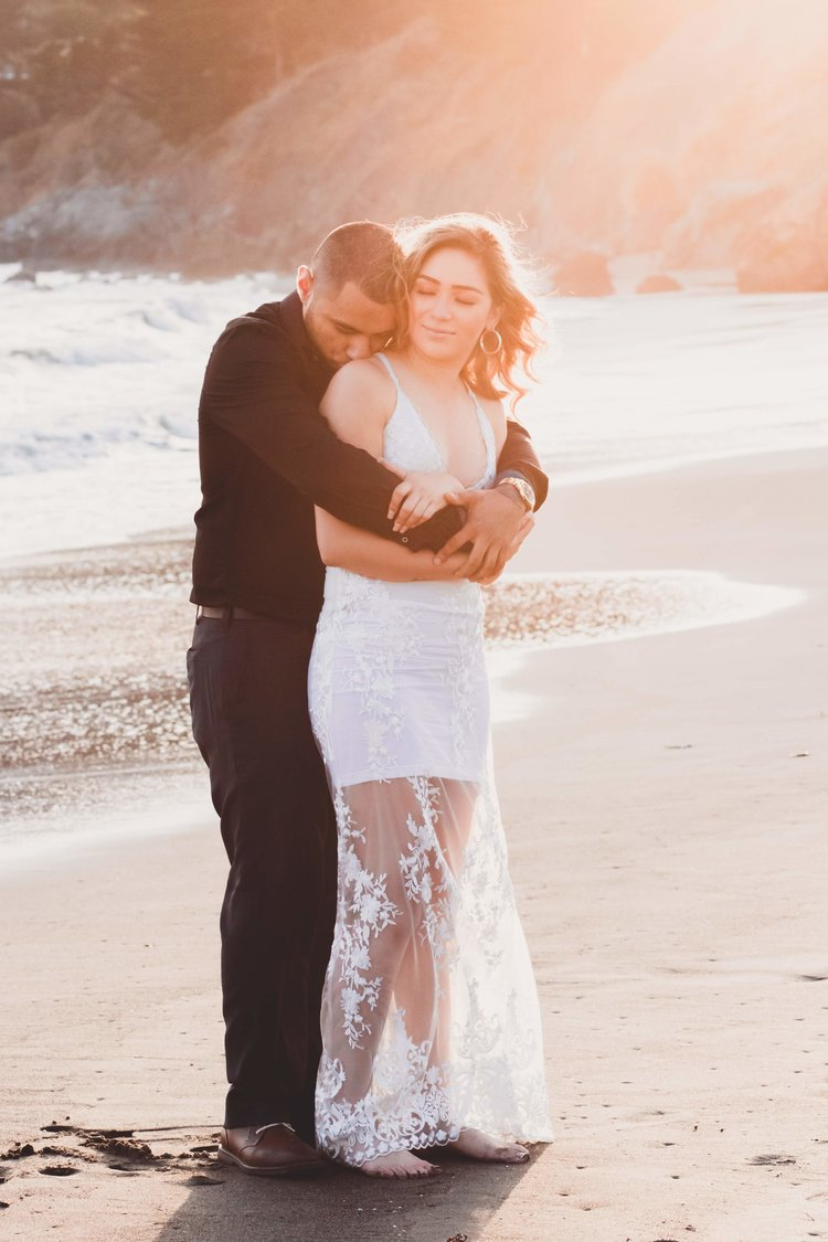 Couple's Session - Sunset at the beach