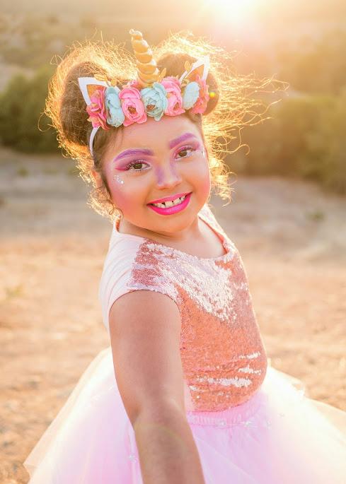 Children Portrait - Destiny Halloween Dress-Up