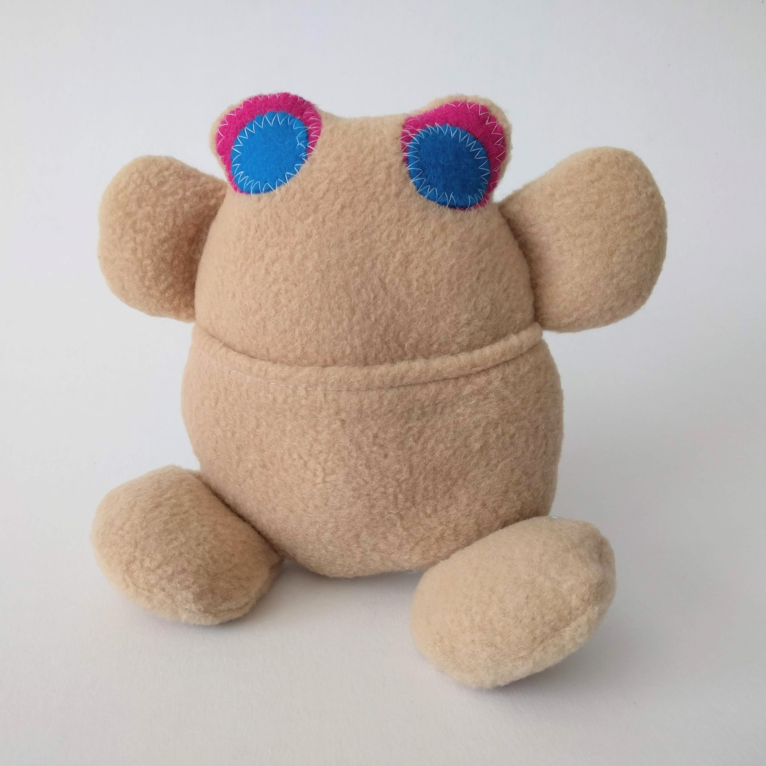 Frog Monster Plush Toy Sewing Pattern