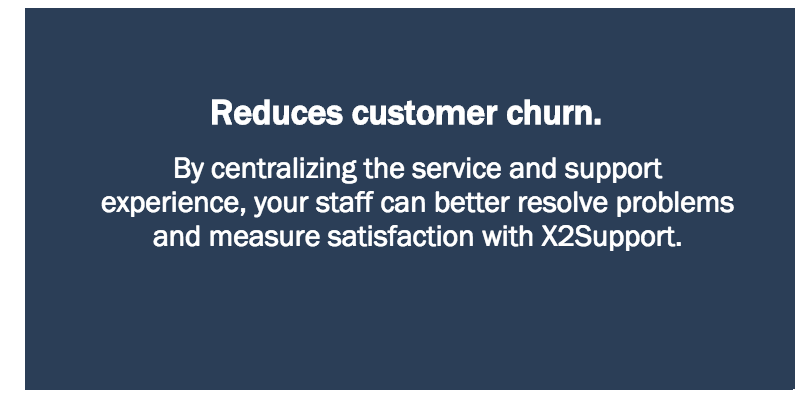 Reduces customer churn.
