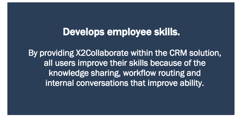 Develops employee skills.