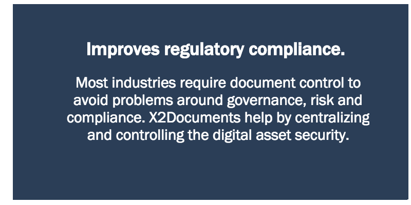 Improves regulatory compliance.