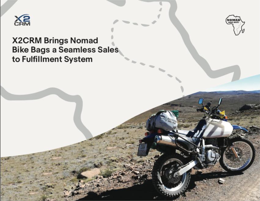 Nomad Bike Bags Case Study -