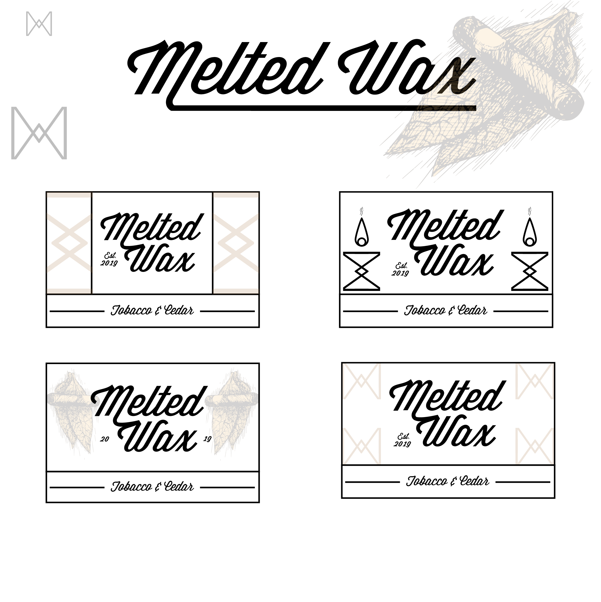 Melted Wax – Logo Sketches-07.png