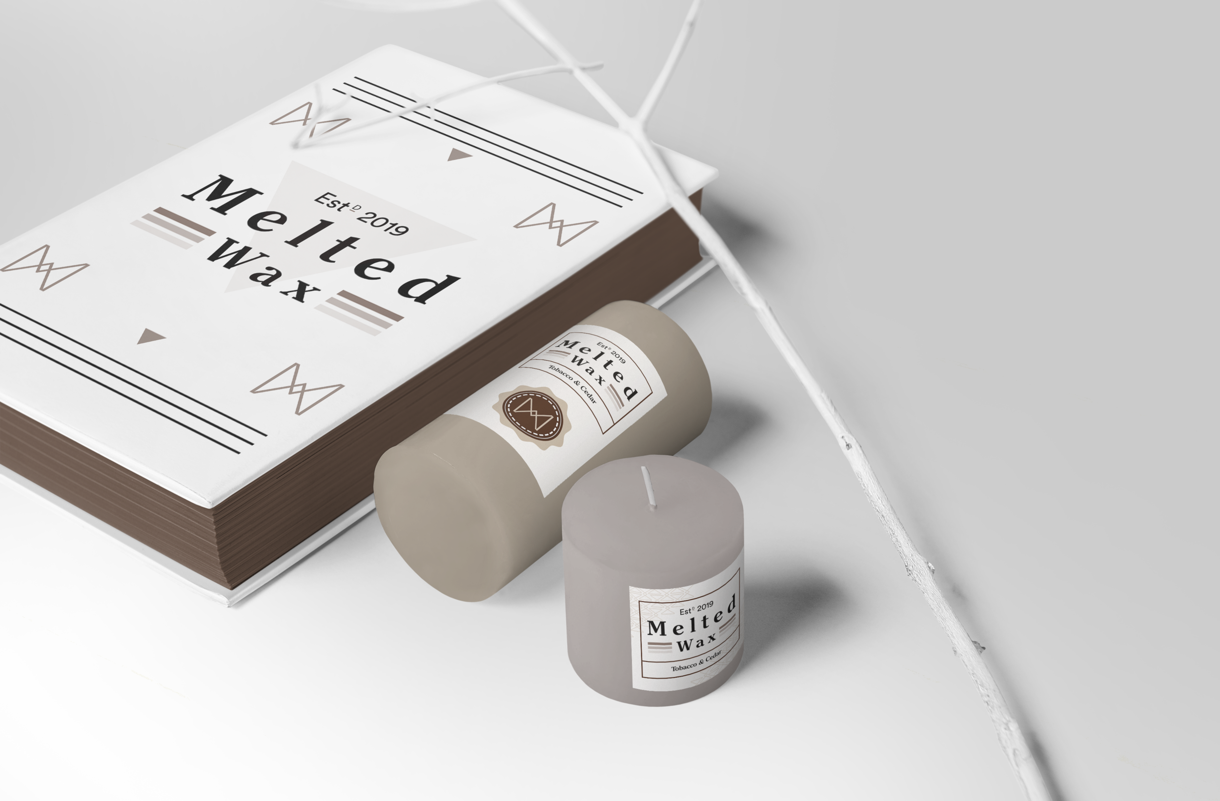 Melted Wax – Brand Identity/Packaging