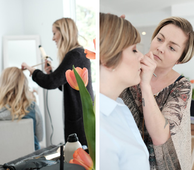 Hair & Makeup - During our WE & YOU DAY, we provide you with everything you need to start your session with your best foot forward! When you sign up for your package, make sure to include hair and makeup by our experienced makeup artist and stylist!