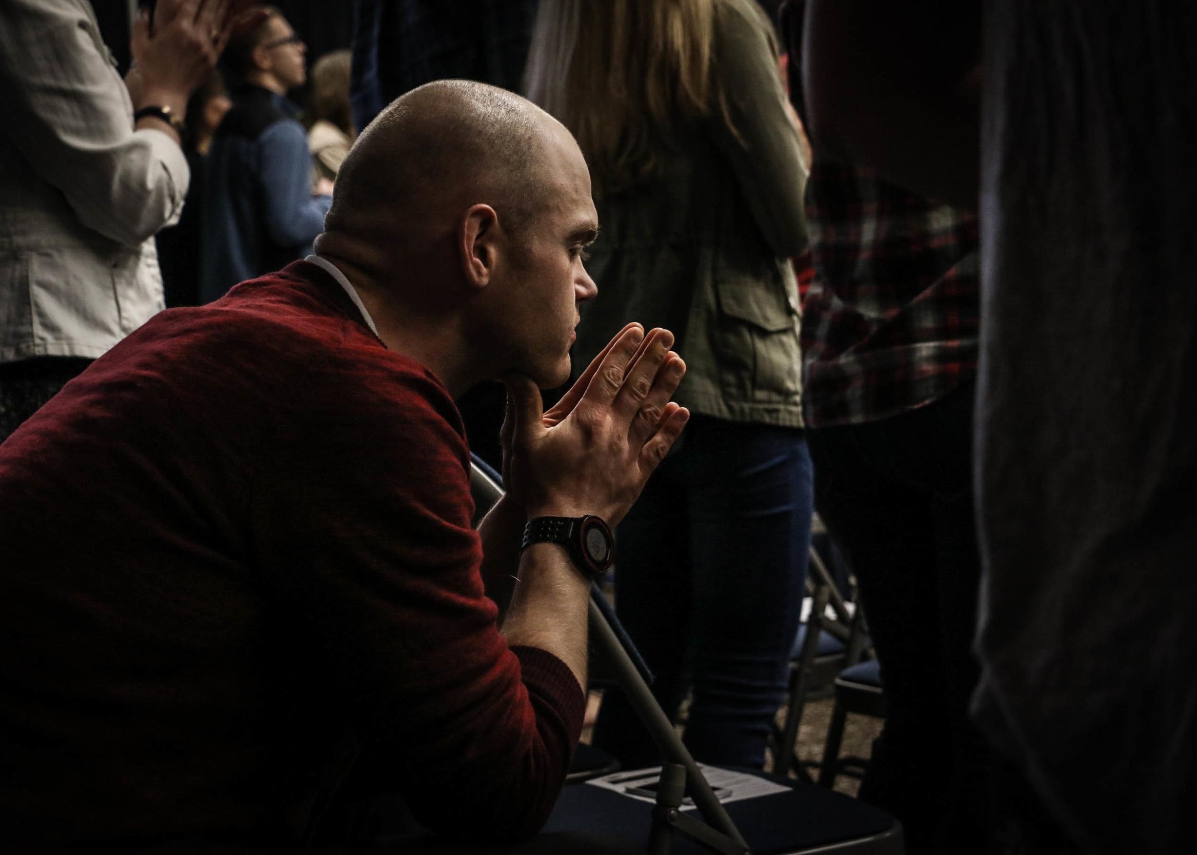 UNCEASING PRAYER - Believing firmly in the power of prayer.