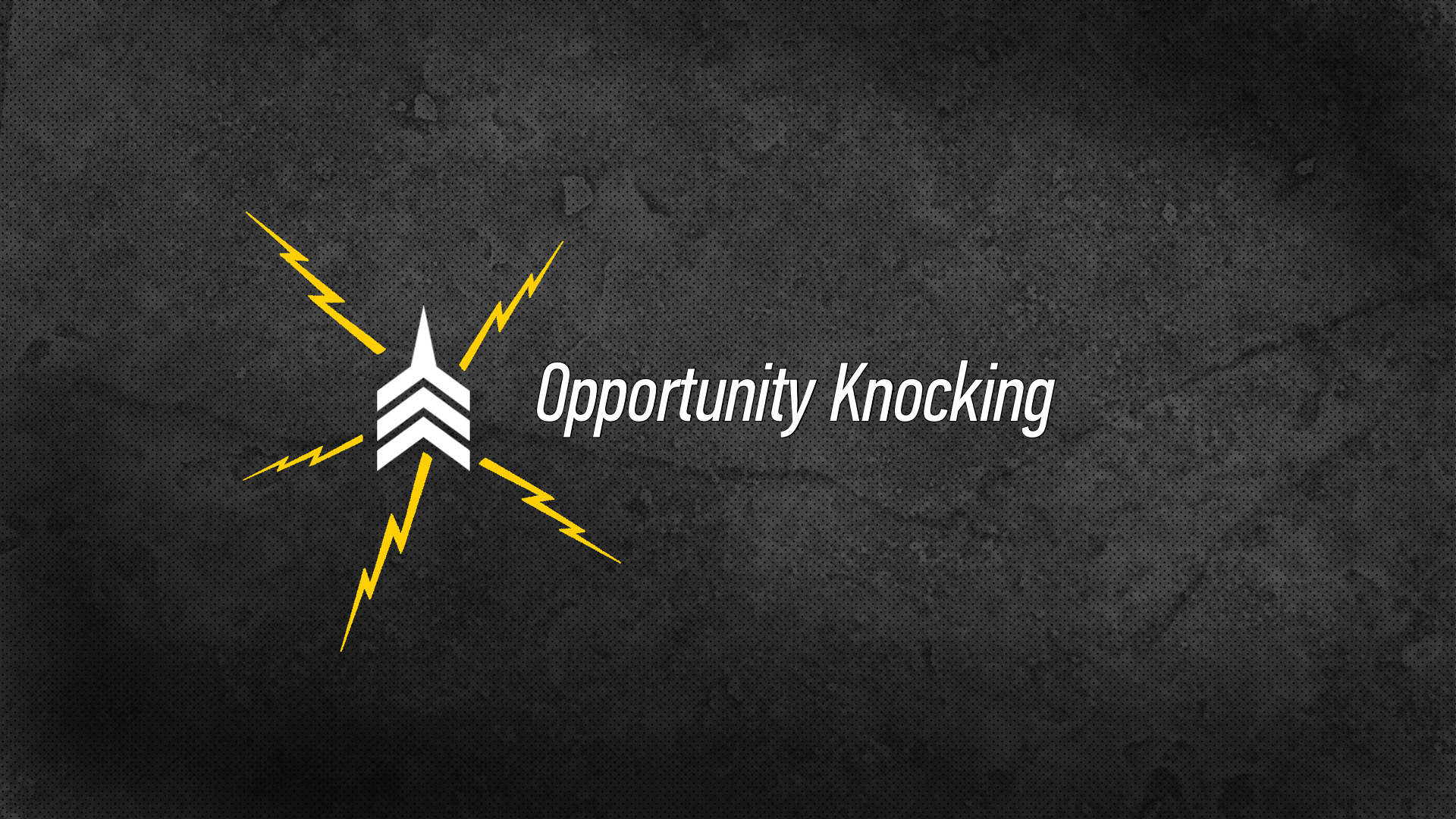 20160828 Opportunity Knocking.png