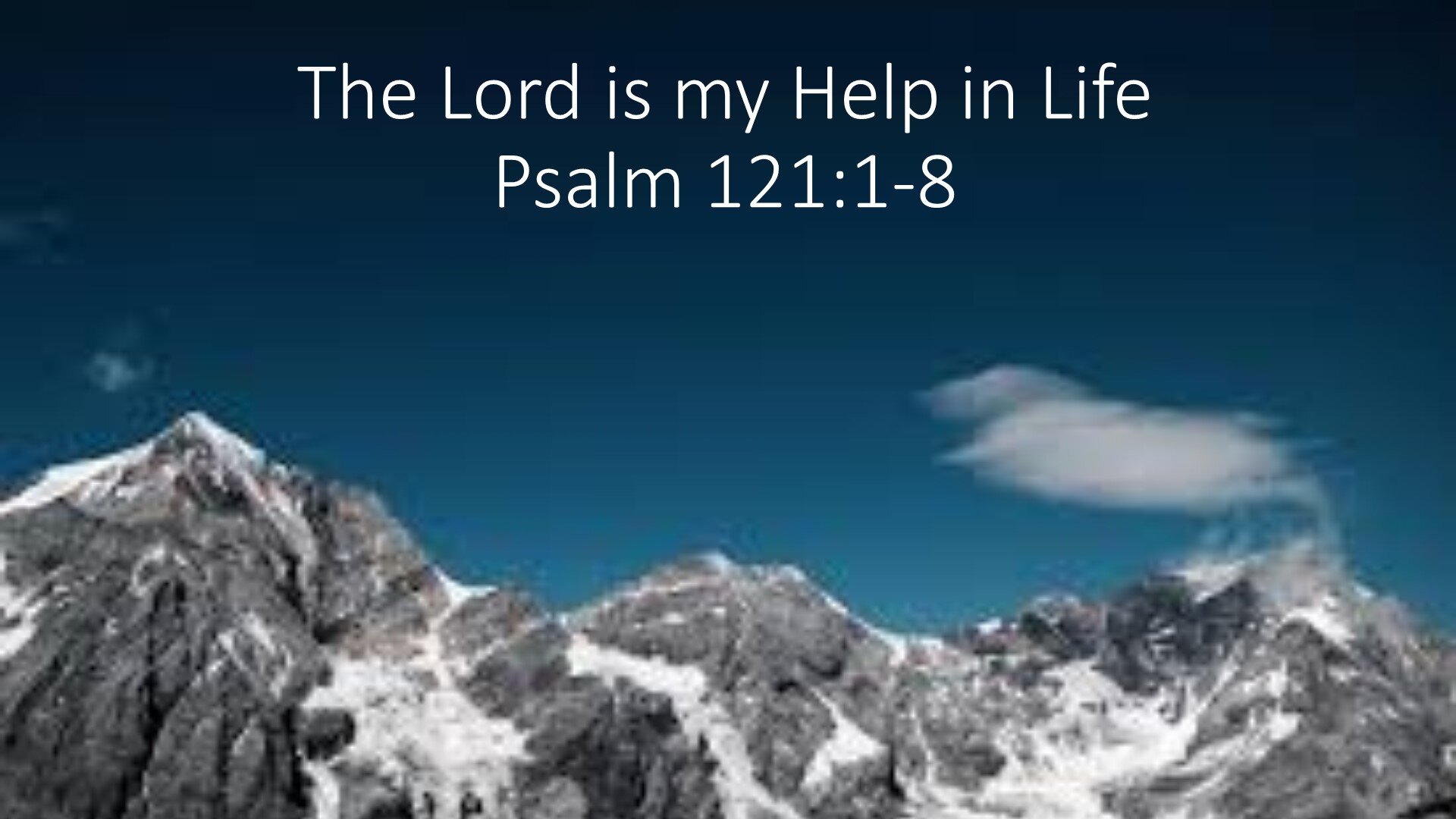 20191103 THE LORD IS MY HELP IN LIFE.jpg