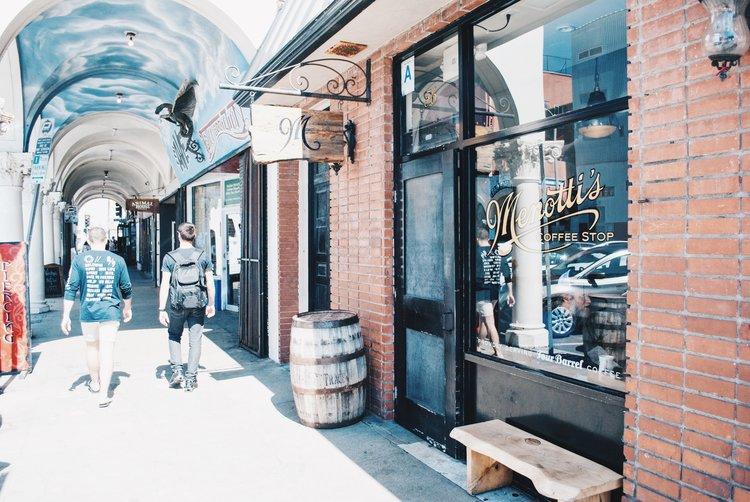 come here for the... - latte art award-winning baristas, beachfront atmosphere, spanish latte, secret menu, a taste of gritty venice street life.