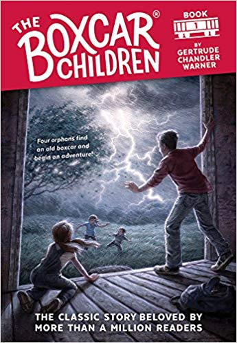 The new Boxcar Children cover — very controversial!