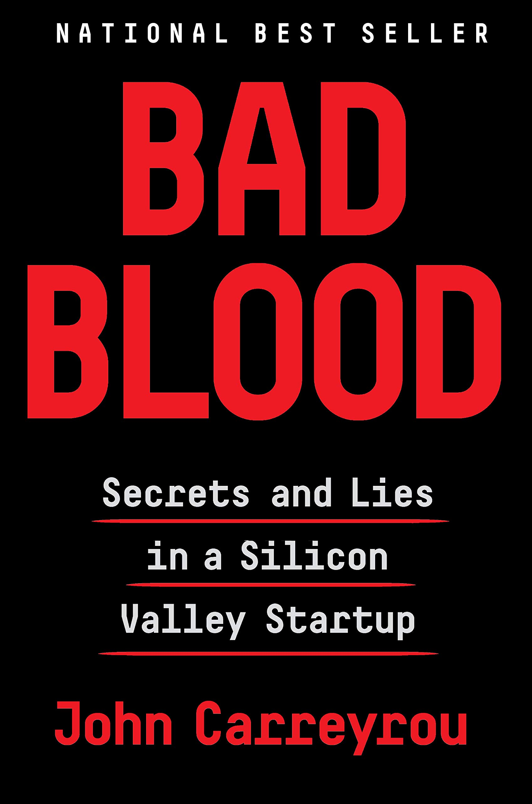 Bad Bood: Secrets and Lies in a Silicon Valley Startup by John Carreyrou - Remember when I said I was on a non-fiction kick? Told ya so! My book club chose this as our July pick and I'm so glad we did, because I'm not sure I would have selected it for myself otherwise. One of my reading goals for 2019 was to diversify my reading — particularly in the non-fiction space — and it's thanks to books like this that I'm picking up steam toward accomplishing it. I didn't know much about the Theranos scandal before Bad Blood, but the book has made me excited to learn everything there is to know about it!