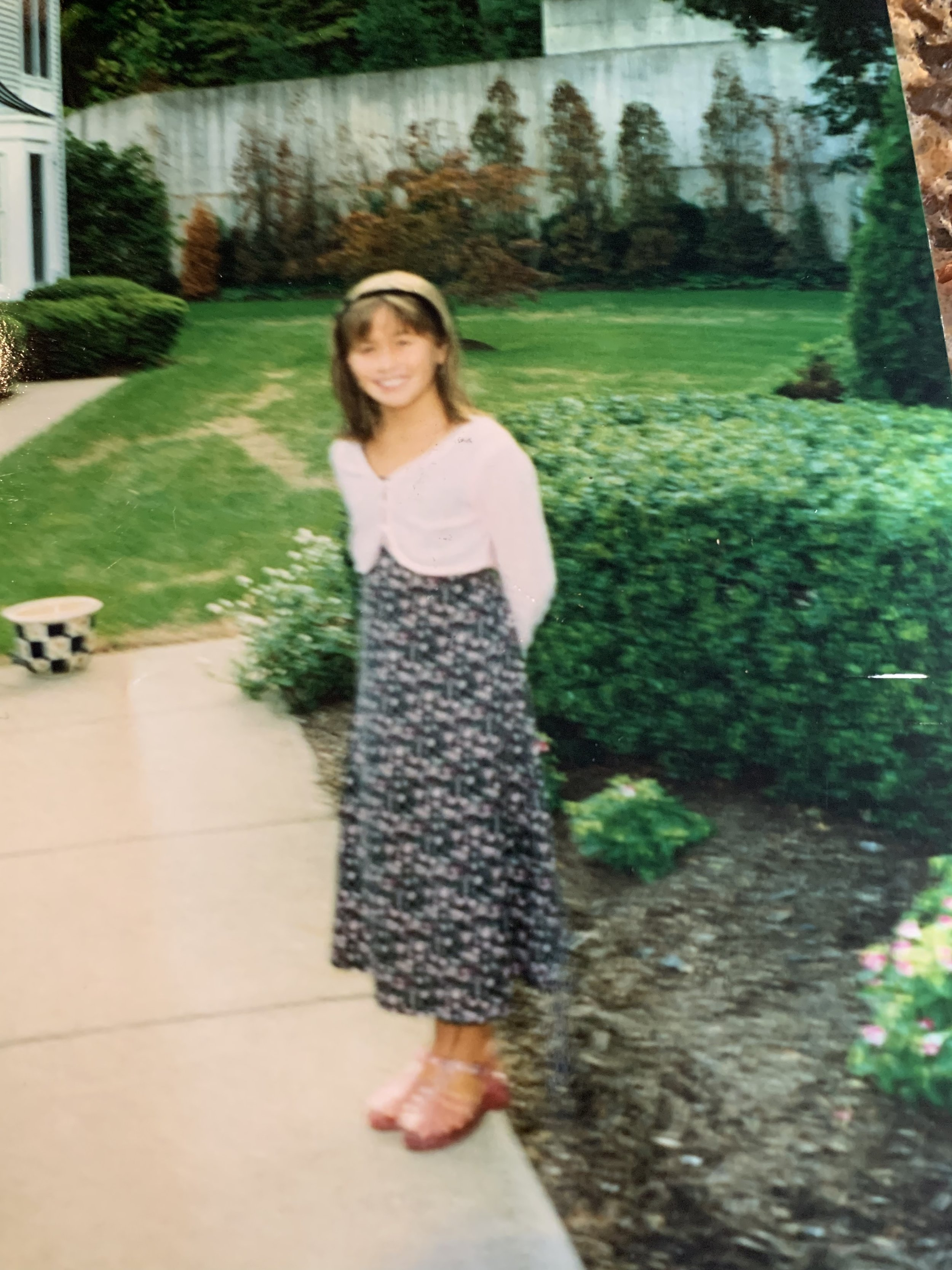 Some ill-advised back-to-school fashion from my own elementary school days. Check out those jellies!