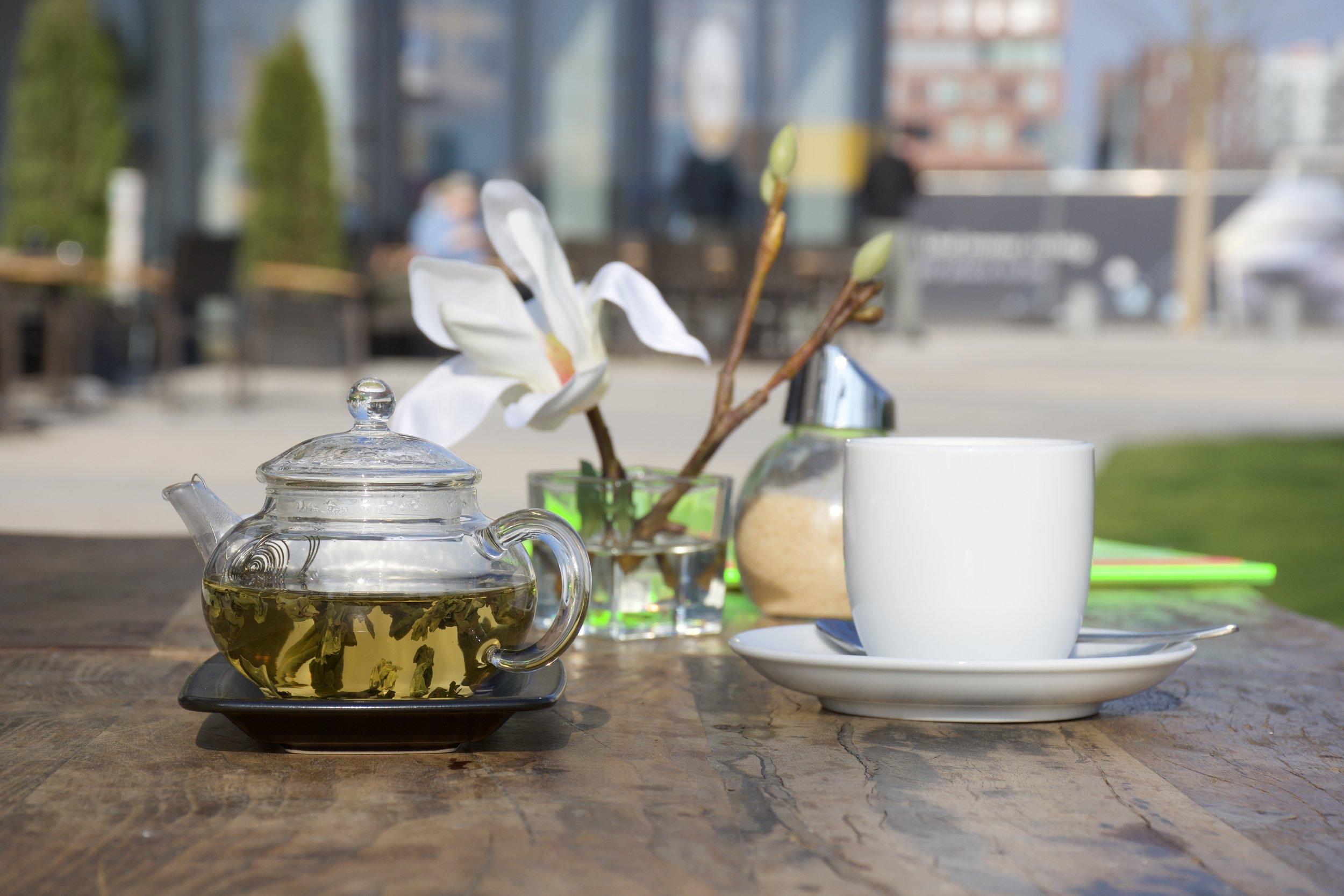 Unser Teegarten, auch Biergarten genannt
