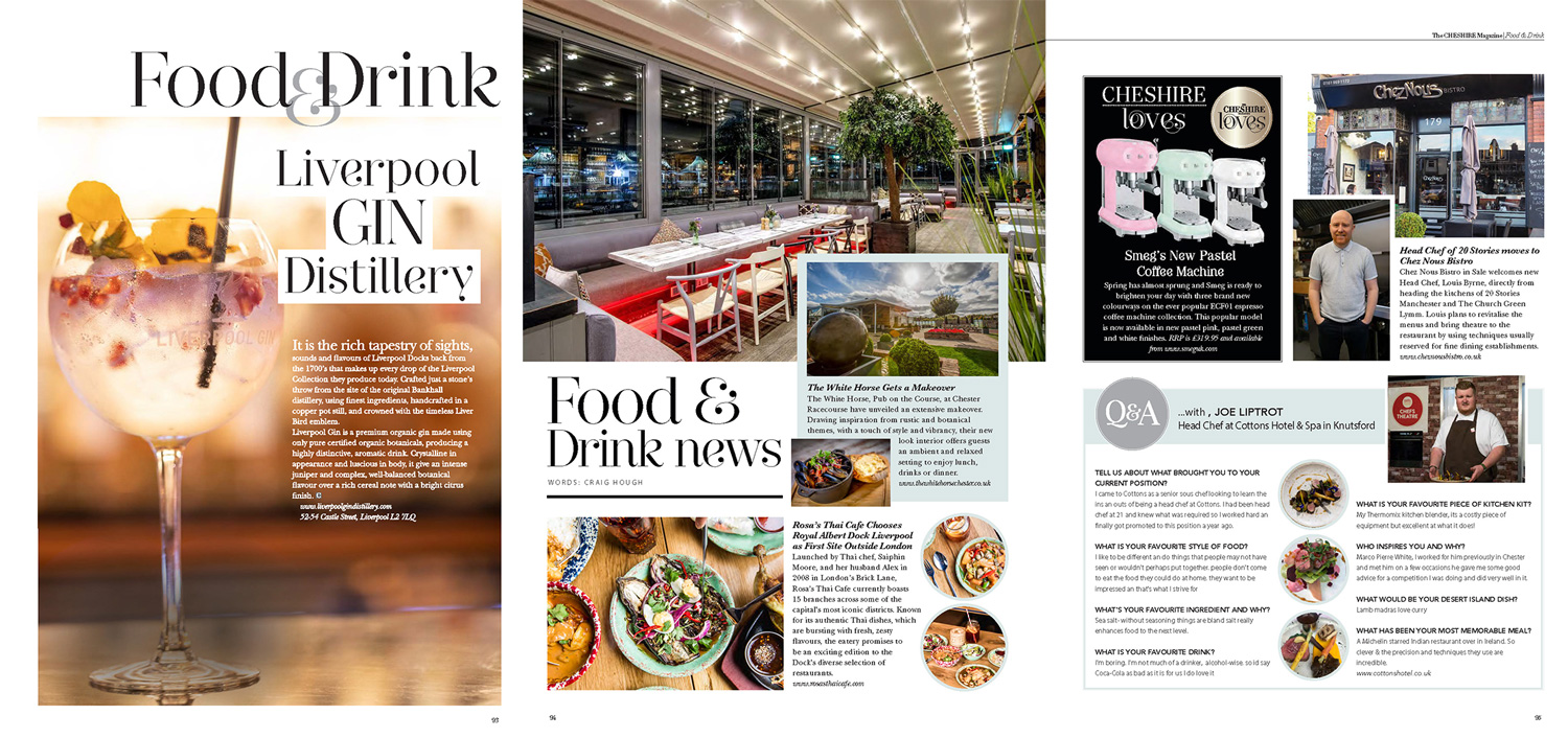 Food, Drink & Dining guide -