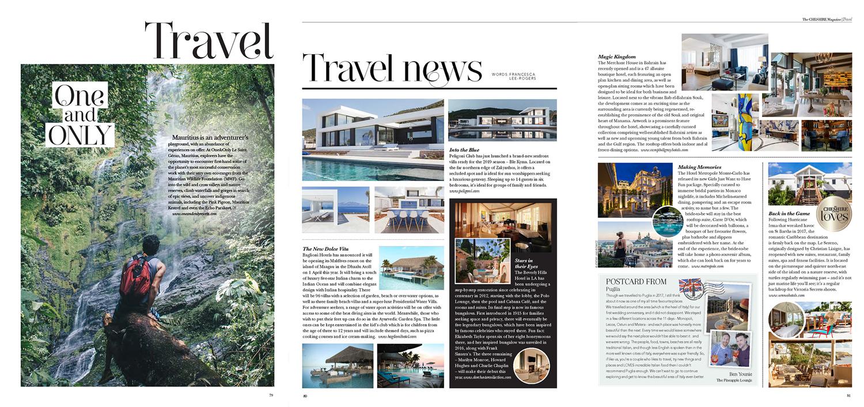 Travel news -